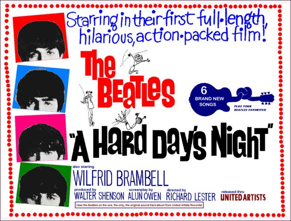 Hard Days Night Poster