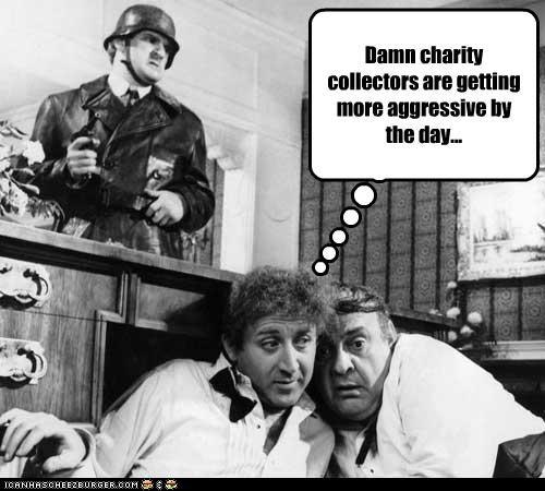 aggressive charities