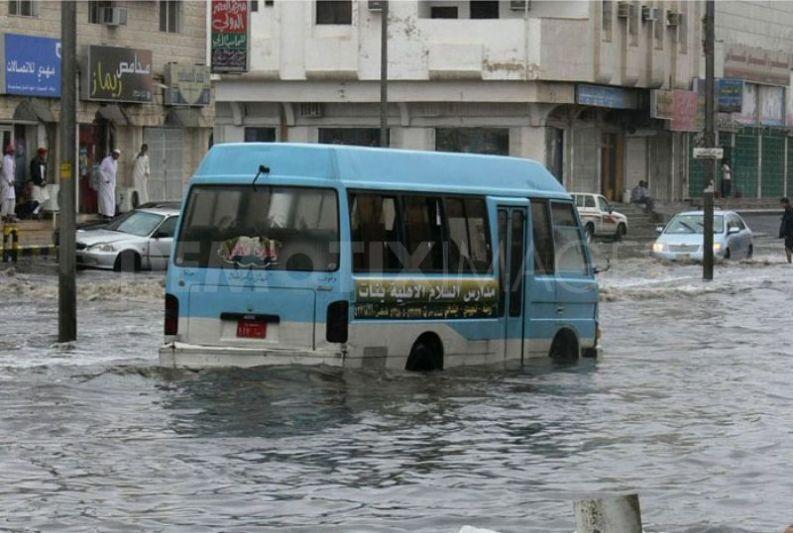truck - flood
