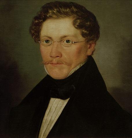Carl Spitzweg / Selbstbildnis, um 1842 -  -