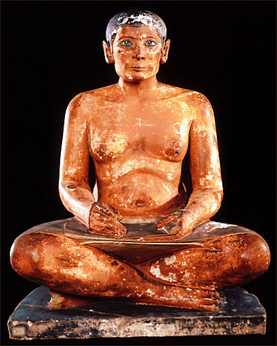 Egyptian-Seated-Scribe