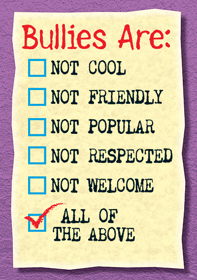bullies-are-not-cool-poster