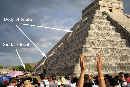 Serpent Shadow revealed at the Spring Equinox