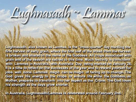 Lughnasadh-Lammas